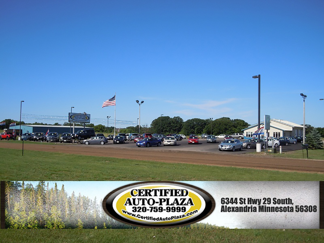 About Certified Auto Plaza - Used Car Dealership in Alexandria, Minnesota